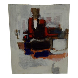 """""""The Waiter"""" Oil Painting"""