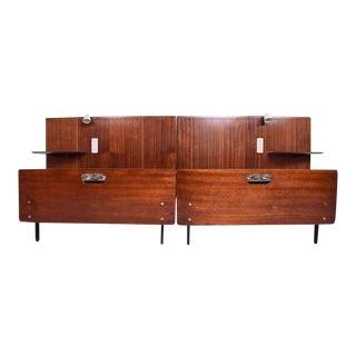 Mid-Century Modern Italian Bed Frame For Sale