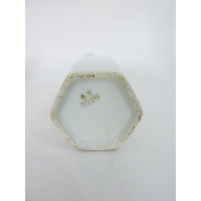 Red Japanese Gold Dragon 'Whistling' Porcelain Sake Flask/Decanter For Sale - Image 8 of 9