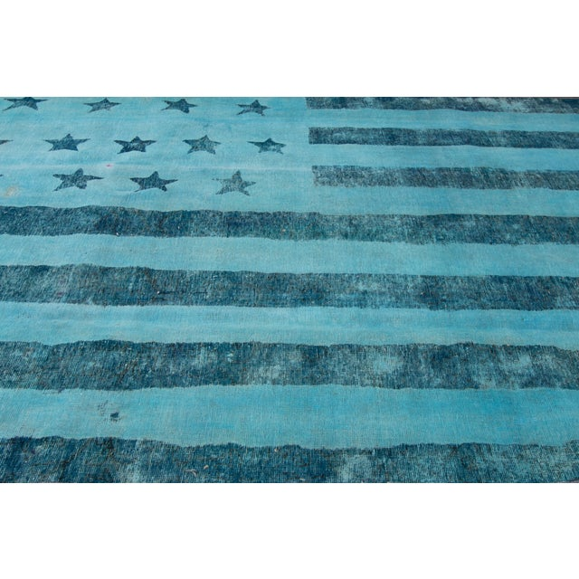 "Apadana Over-Dyed Rug, 6'2"" X 9'2"" For Sale - Image 4 of 4"
