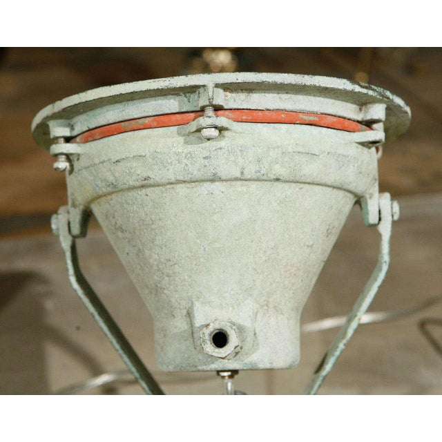 20th Century Industrial Bronze Ship Spot Lights -a Pair For Sale - Image 4 of 8
