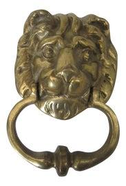 Image of Lion Door Knockers