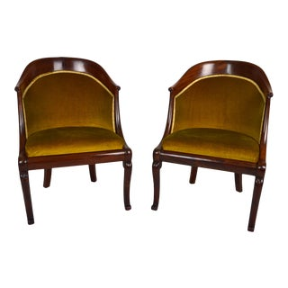 Early 19th Century Empire Armchairs- A Pair For Sale