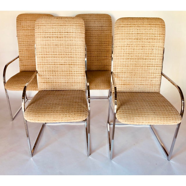 Design Institute of America Mid-Century High Back Dining Chairs - A Pair For Sale - Image 12 of 12