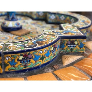 1910s Vintage Spanish Style Tile Fountain Preview