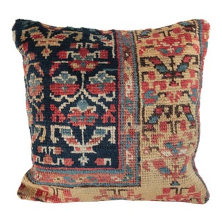Antique Caucasian Rug Pillow