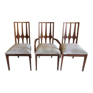 Broyhill Brasilia Mid Century Dining Chairs - Set of 3 For Sale