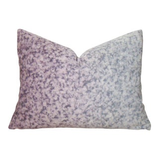 Japanese Shibori Dyed Ombre Pillow Cover For Sale