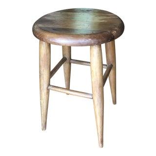 Vintage Wooden Milking Stool** For Sale