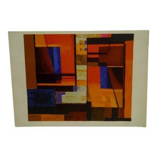 """""""Geometric Colors"""" Signed Print"""