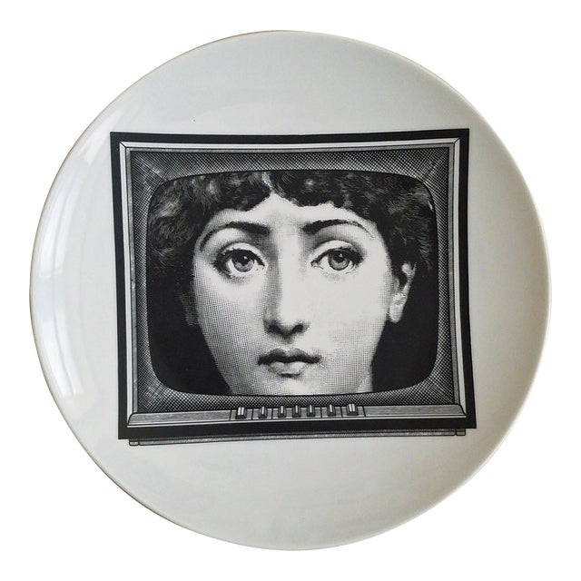 Fornasetti Tema E Variazioni Plate, Number 265 - Image 1 of 3