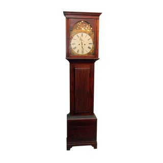 1800s Scottish Grandfather Clock For Sale