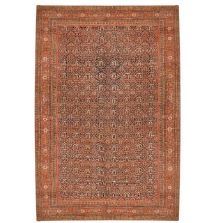 Antique Oversize 19th Century Persian Fereghan Carpet For Sale