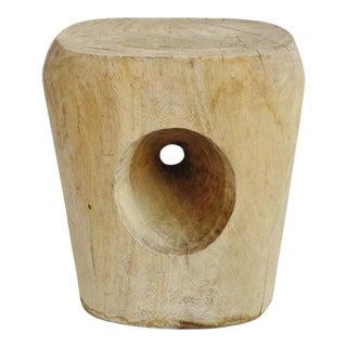 Acacia Hole Stump Stool For Sale