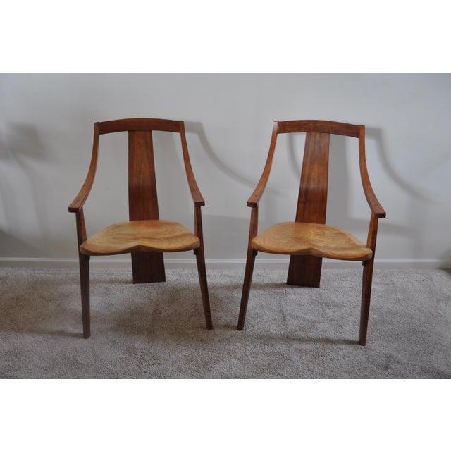 Robert Erickson Signed Van Muyden Arm Chair - Image 2 of 6