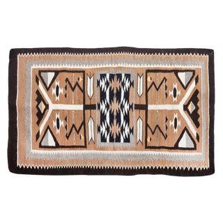 "1960s Vintage Navajo Pictorial Rug - 2'4'x3'8"" For Sale"