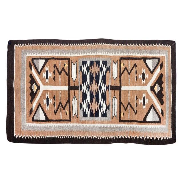 "1960s Vintage Navajo Pictorial Rug-2'4'x3'8"" For Sale"
