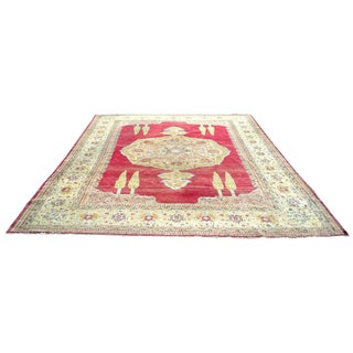 Large Red Antique Turkish Sivas Rug For Sale
