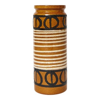 1970s Large Vase by Scheurich, West Germany For Sale