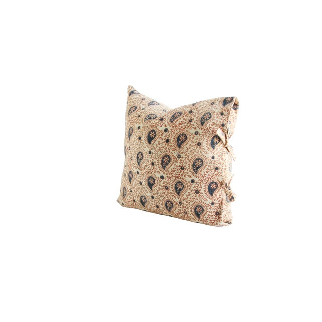 Les Indiennes Paisley Printed Pillow - Image 2 of 2