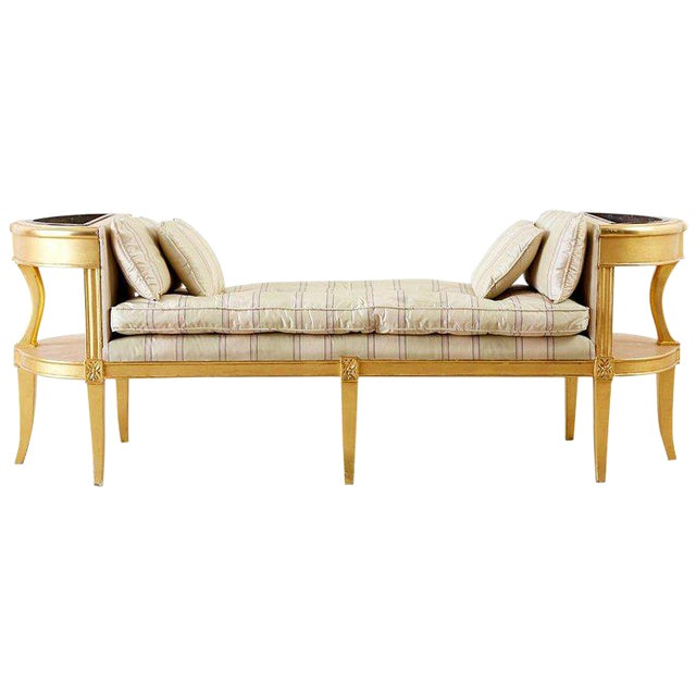 Fine French Directoire Style Giltwood Window Bench Seat Theyellowbook Wood Chair Design Ideas Theyellowbookinfo