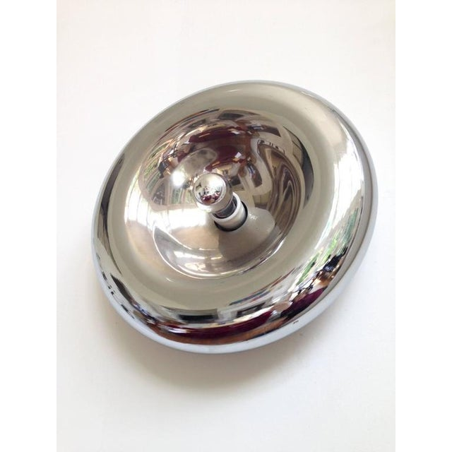 Sciolari Style Polished Chrome Sconce - Image 4 of 4