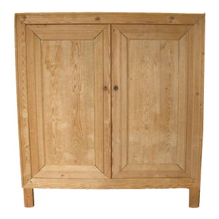 Antique French Pine Doors & Frame For Sale