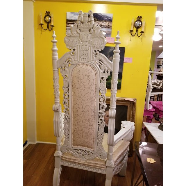 19th Century Antique Lion Chair For Sale In New York - Image 6 of 11