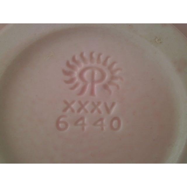 Rookwood Art Pottery Vase - Rose & Green 1935 - Image 5 of 7