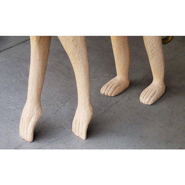 Large Modernist Monkey Sculpture, Manner of Lalanne - Image 6 of 6