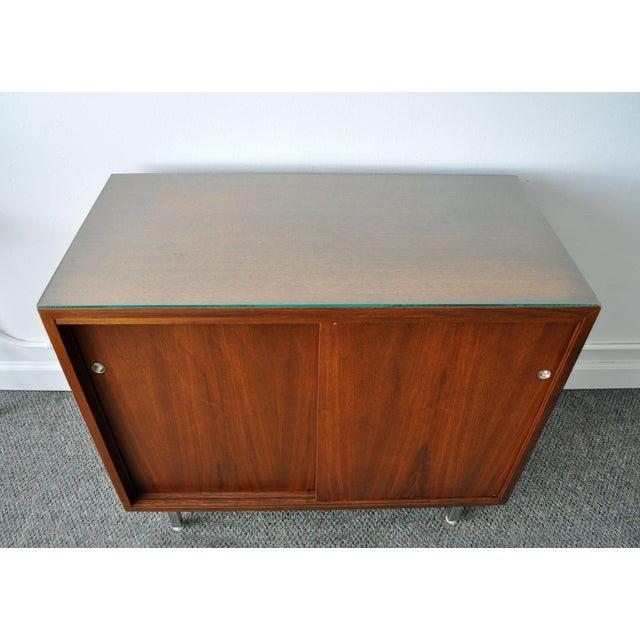 Mid-Century Modern Walnut Cabinet - Image 9 of 10