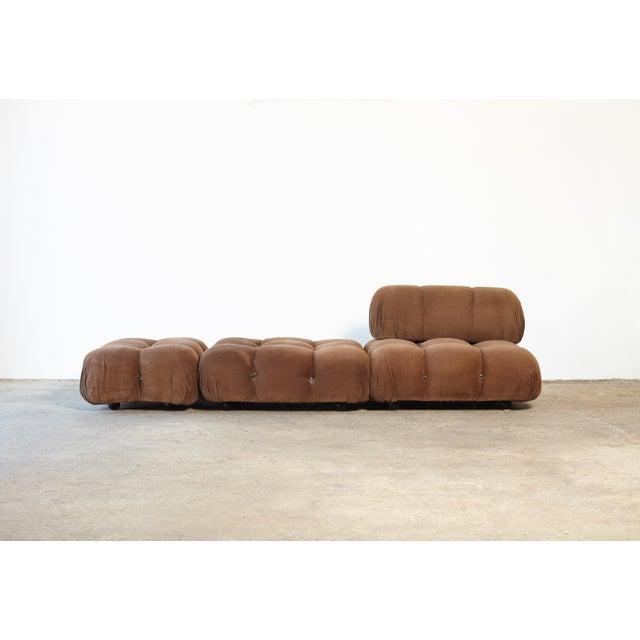 "1970s Vintage Mario Bellini for B&b Italia ""Camaleonda"" Modular Sofa For Sale - Image 10 of 10"