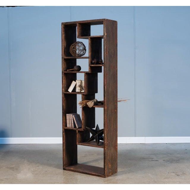 Sarreid Wagoner Bookshelf For Sale - Image 9 of 10