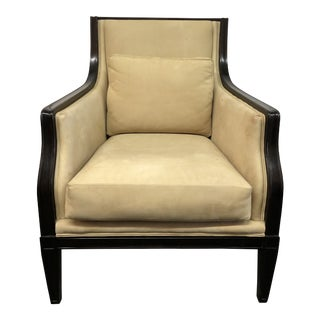 Juno Leather Arm Chair by Ironies For Sale
