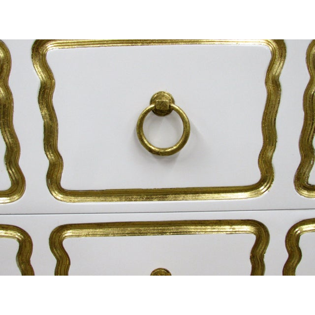 Pair of Chests in the Manner of Dorothy Draper España Collection for Heritage For Sale - Image 9 of 12