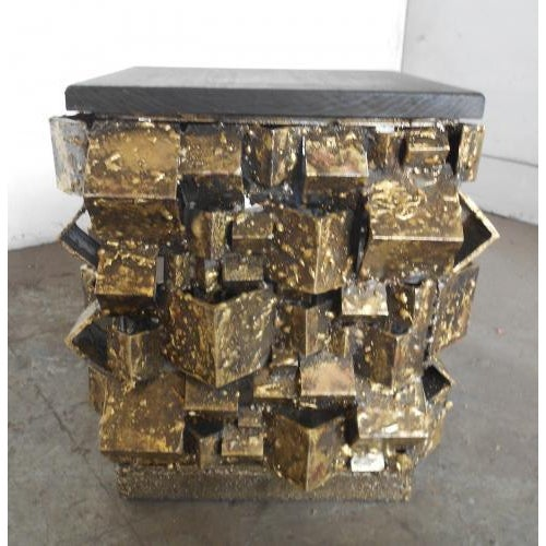 Contemporary The Faceted Side Table by James Bearden For Sale - Image 3 of 4
