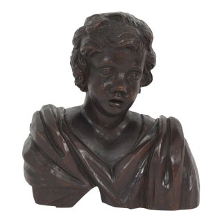 19th Century Wall Mounted or Standing Cherub Sculpture For Sale