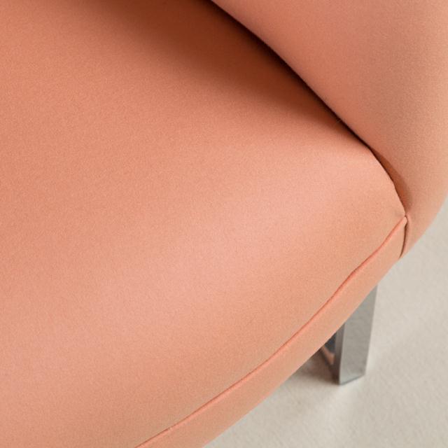 1970s Milo Baughman Chromium Steel Framed Armchair, 1970s For Sale - Image 5 of 7