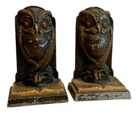 Image of Arts and Crafts Bookends