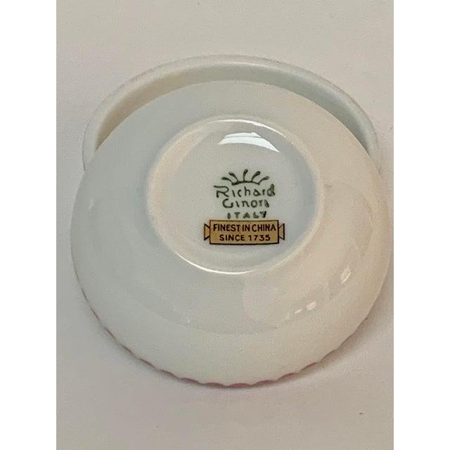 1980s Richard Ginori Italian Porcelain Trinket Box For Sale - Image 5 of 6
