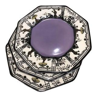 Vintage Imperial Porcelain Plates - Set of 3 For Sale