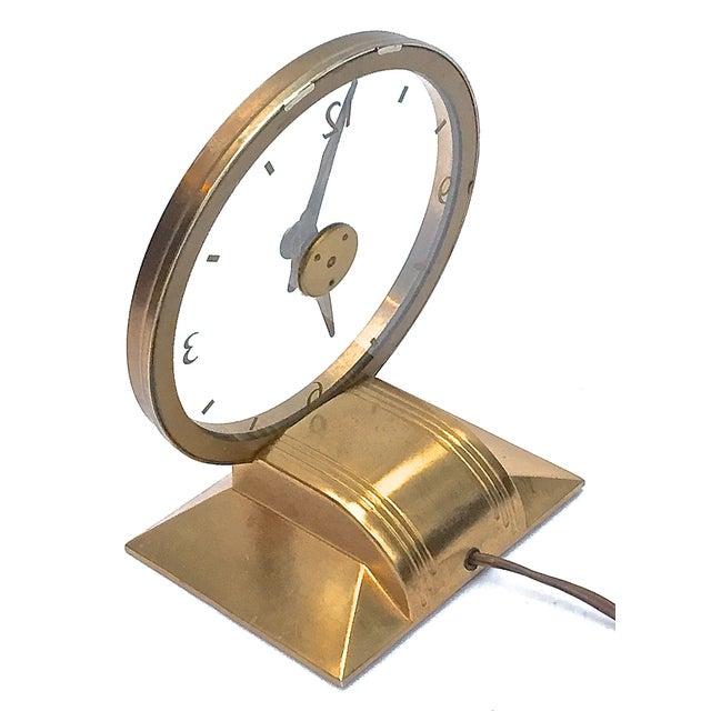 Vintage Art Deco Atomic Clock For Sale - Image 5 of 7