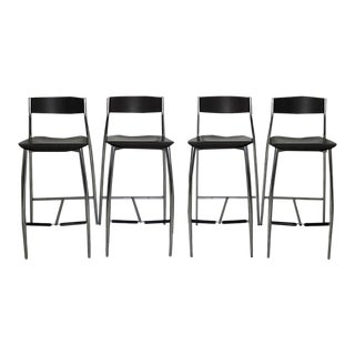 Design Within Reach Baba Bar Stools - Set of 4 For Sale