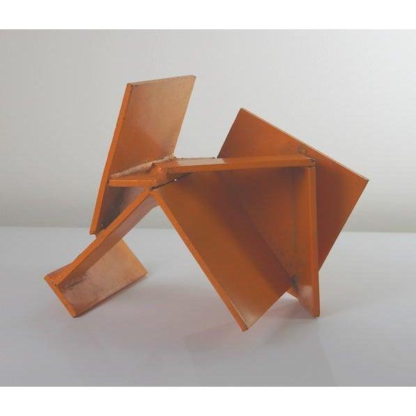 Vintage Orange Sculpture - Image 2 of 2
