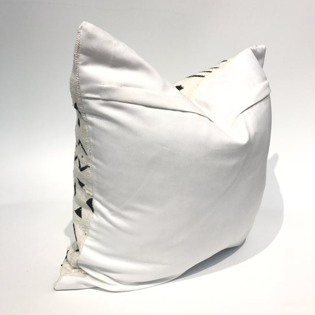 African Mud Cloth Pillow Cover - Image 4 of 4