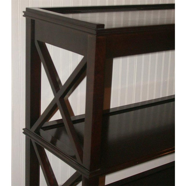 Regency Style Console With Shelving - Image 3 of 8