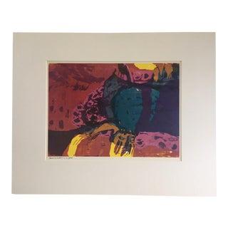 "1960s Vintage Sister Corita Pop Modernist ""Treasure Hidden in a Field"" Print For Sale"