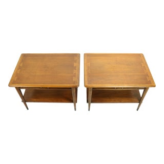 Pair Mid Century Lane Acclaim End Tables For Sale