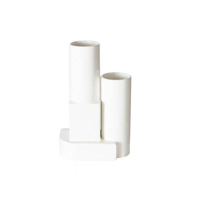Architecturally geometric and highly sculptural, Block is a series of decorative and functional ceramics. Produced in...