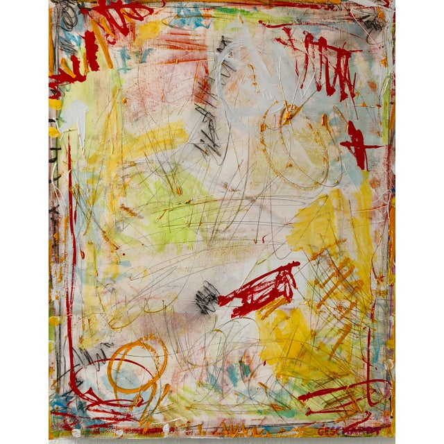 Washington Square Park Abstract Painting For Sale In New York - Image 6 of 6